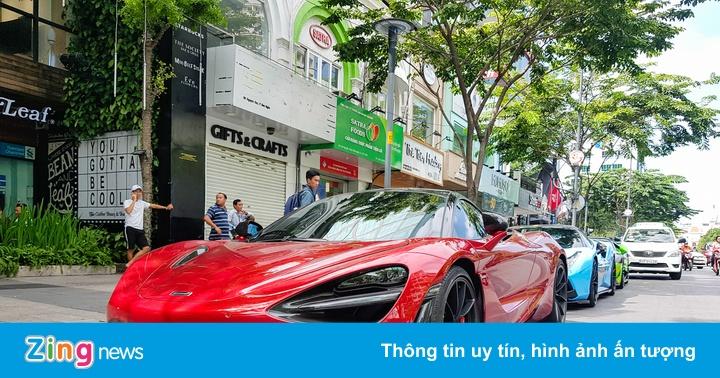 McLaren 720S đẹp long lanh xuống phố Sài Gòn - Siêu xe