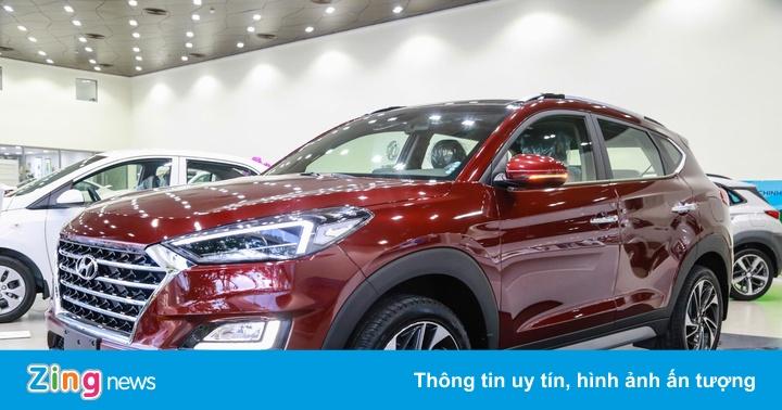 Cận cảnh Hyundai Tucson 2019 - thay ngoại hình, tăng giá bán
