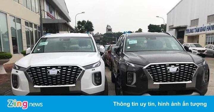 Thêm một lô xe Hyundai Palisade được nhập về VN