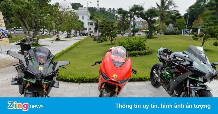 Dàn môtô khủng hội ngộ cùng Car Passion ở Hạ Long