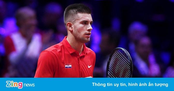 Chung kết Davis Cup 2018: ĐKVĐ Pháp lép vế trước Croatia