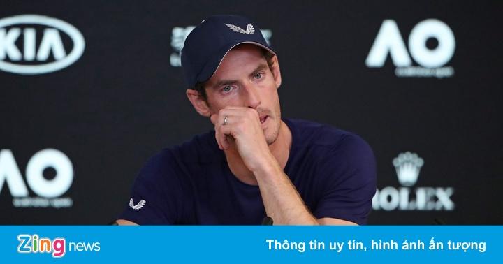 Cựu số 1 thế giới Murray có thể giải nghệ ngay sau Australian Open