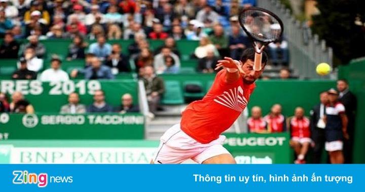 Hạt giống số một Novak Djokovic bại trận tại tứ kết Monte Carlo