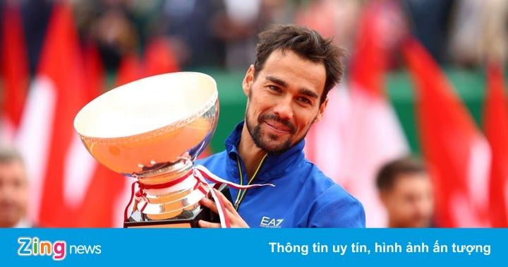 Fognini lập kỷ lục trong ngày vô địch Monte Carlo