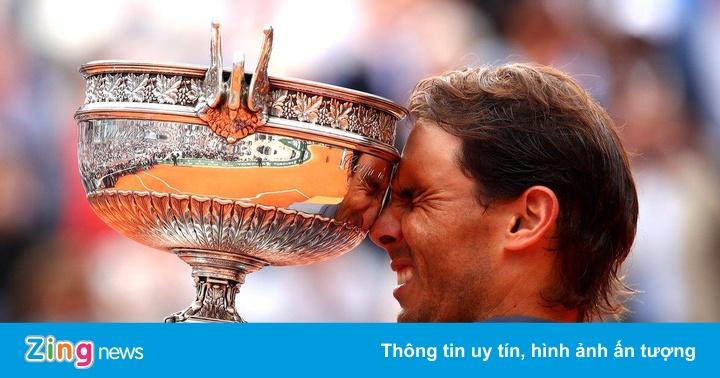 Khoảnh khắc Nadal đạt điều chưa từng có trong lịch sử quần vợt