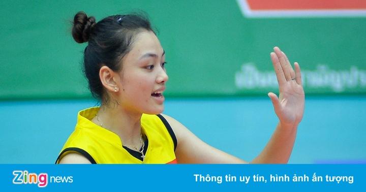 """Hoa khôi bóng chuyền """"gây thương nhớ"""" tại giải U23 châu Á"""