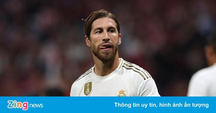 HLV Simeone tố Ramos xúc phạm trọng tài