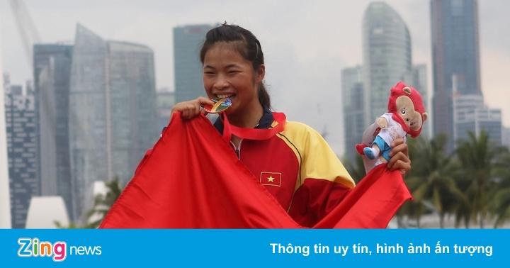 SEA Games 30: Trương Thị Phương giành HCV canoeing