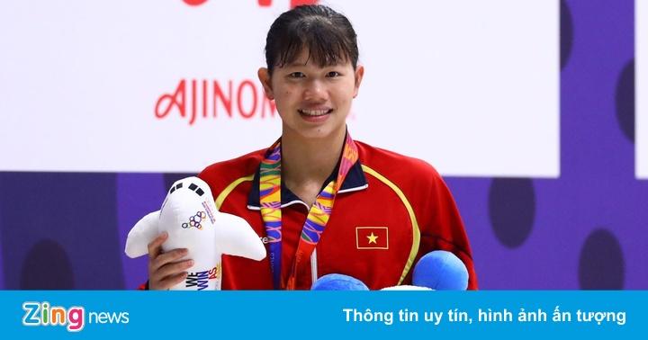 Đoàn Việt Nam xuống vị trí thứ 3 dù giành 7 HCV trong ngày 6/12