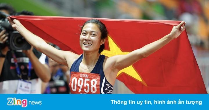 SEA Games 30: Tú Chinh vượt 2 đối thủ nhập tịch, giành HCV 100 m