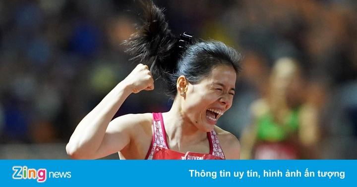 SEA Games 30: Nguyễn Thị Huyền trở lại ấn tượng sau khi sinh con