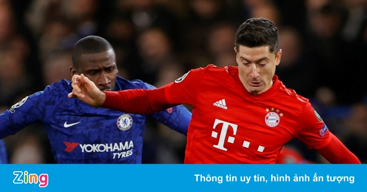 Chelsea 0-0 Bayern: Muller, Lewandowski phung phí cơ hội