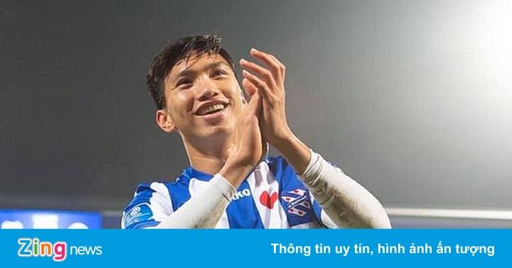 Heerenveen vs AZ: Đoàn Văn Hậu chờ cơ hội ra sân