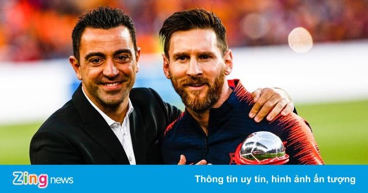 Xavi chưa thể dẫn dắt Barca