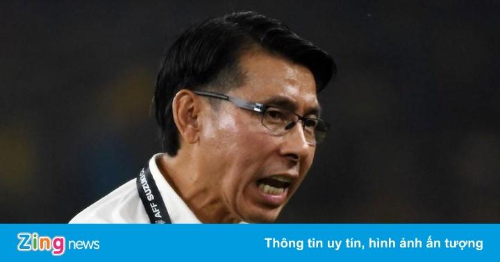 HLV Malaysia bất lực trước trận gặp tuyển Việt Nam