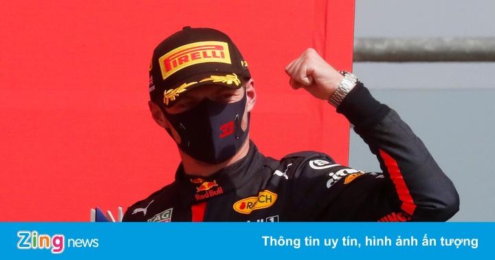 Lý do giúp Verstappen làm nên lịch sử tại chặng kỷ niệm 70 năm F1 - power 645