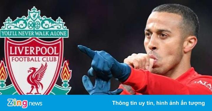 Thiago gia nhập Liverpool với giá 20 triệu bảng