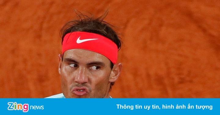 Djokovic 0-2 (set 3: 2-3) Nadal: 'Rafa' tiến gần tới chức vô địch