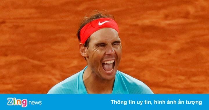Nadal cân bằng kỷ lục 20 danh hiệu Grand Slam của Federer