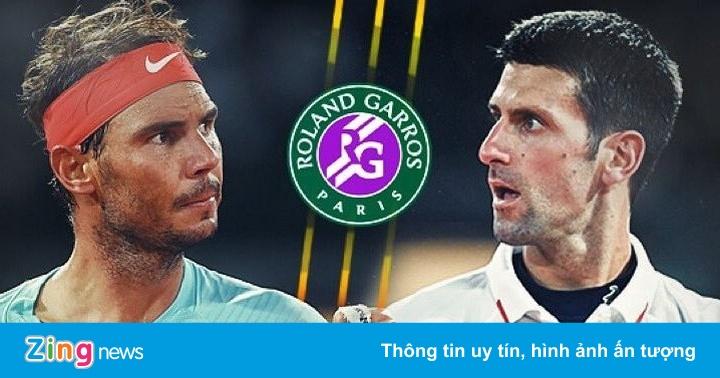 Djokovic 0-0 (0-1) Nadal: 'Nole' sớm mất break