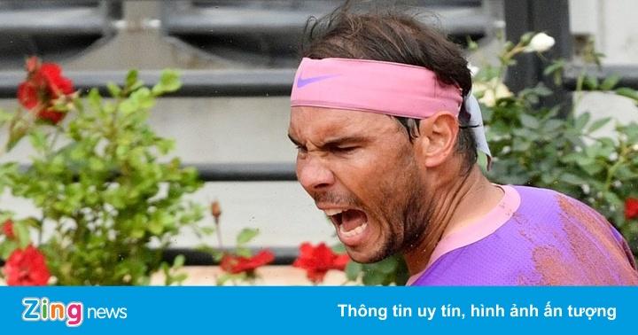 Djokovic 0-0 (set 1: 5-6) Nadal: 'Rafa' chảy máu sau nỗ lực cứu bóng