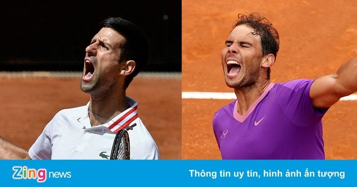 Djokovic 0-0 (set 1: 1-0) Nadal: Cuộc chiến 'Vua' Masters