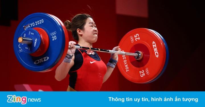 Hoàng Thị Duyên xếp hạng 5 ở chung kết môn cử tạ Olympic