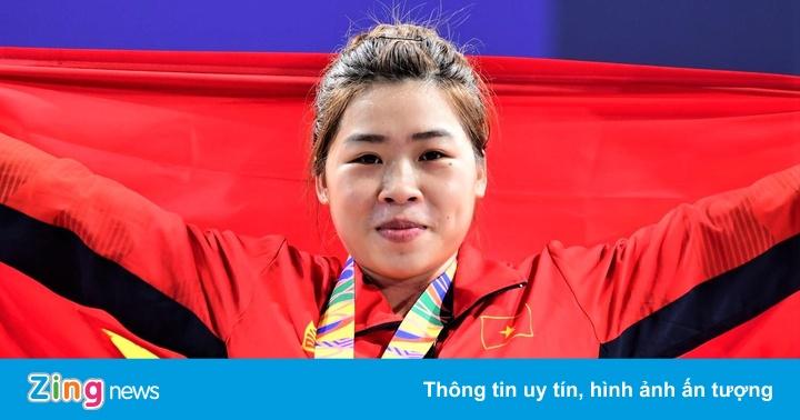 Hoàng Thị Duyên tranh huy chương cử tạ Olympic