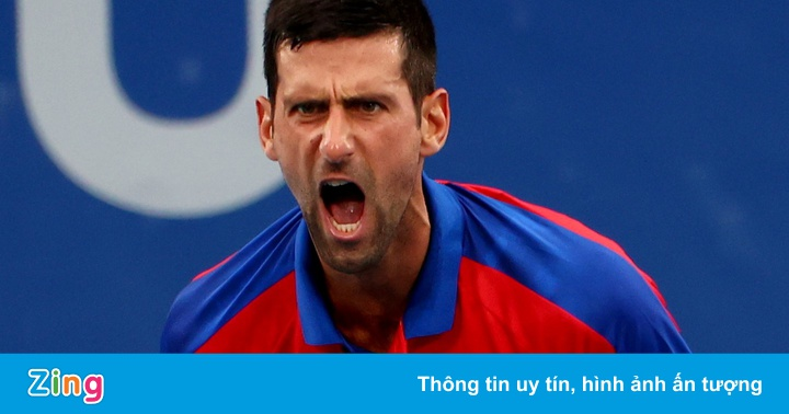 Djokovic thắng trận thứ hai tại Olympic Tokyo