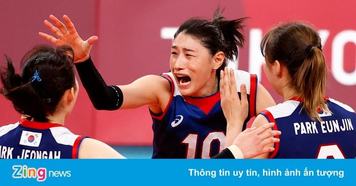 Cảm xúc trái ngược khi tuyển bóng chuyền nữ Hàn Quốc hạ Thổ Nhĩ Kỳ