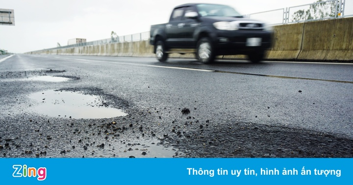 Cao tốc 34.500 tỷ Đà Nẵng – Quảng Ngãi nham nhở sau khi sửa chữa