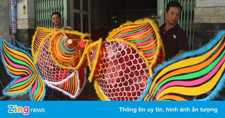 Xóm đèn lồng Sài Gòn tất bật trước Trung thu