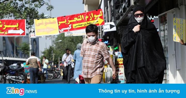 Iran trải qua ngày có số người chết vì Covid-19 cao chưa từng thấy