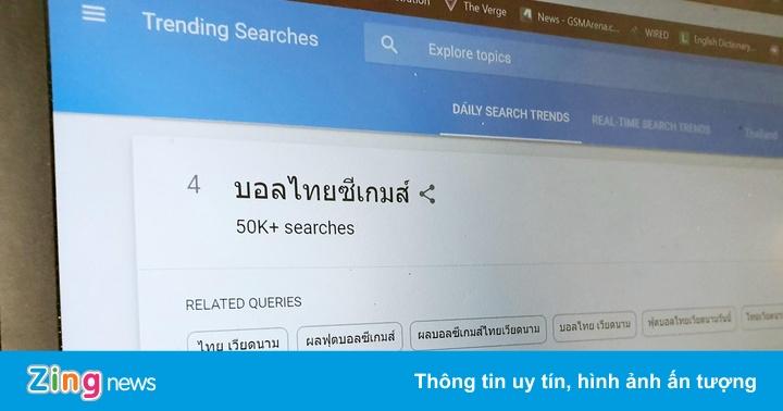 Việt Nam là mối quan tâm số 1 của dân mạng Thái Lan những ngày qua
