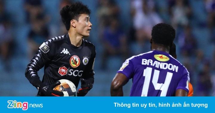 CLB Hà Nội 1-1 CLB Đà Nẵng: Bùi Tiến Dũng bất lực trước cú đá phạt