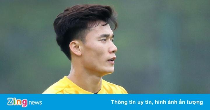 CLB Hà Nội vs CLB Đà Nẵng: Bùi Tiến Dũng bắt chính
