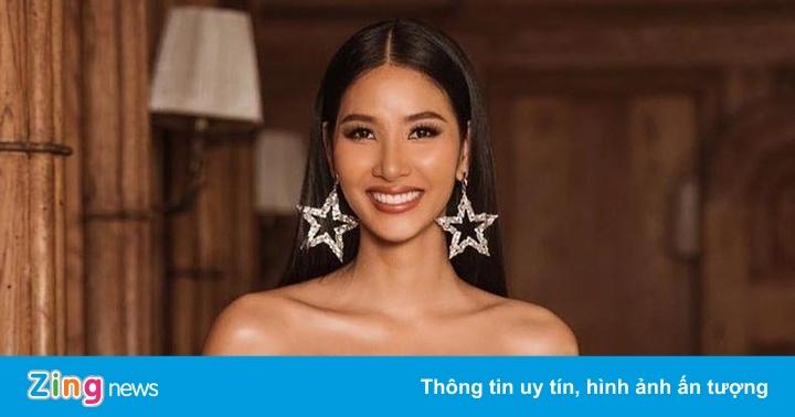 Hoàng Thùy được dự đoán vào top 20 Hoa hậu Hoàn vũ 2019