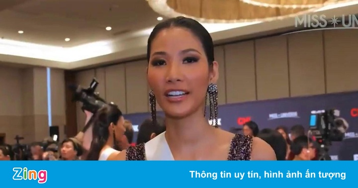 Hoàng Thùy nỗ lực trước chung kết Hoa hậu Hoàn vũ 2019