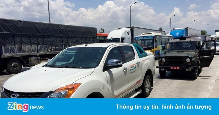 Tài xế đuổi đánh nhân viên, buộc BOT Ninh Lộc xả trạm