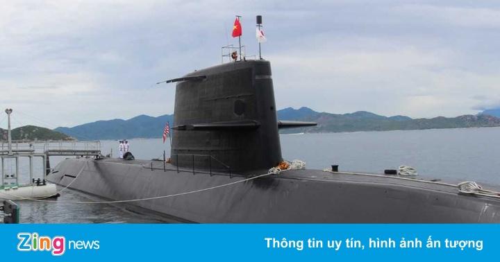 Tàu ngầm huấn luyện Kuroshio của Nhật Bản thăm Khánh Hòa