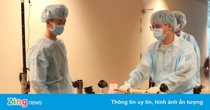 Khánh Hòa xét nghiệm virus corona nhóm người về từ Hàn Quốc