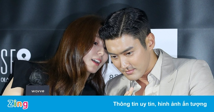 Choi Si Won tình tứ với ''nữ thần quyến rũ Kpop''