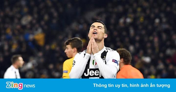 Ronaldo vô duyên, Juventus thua Young Boys 1-2