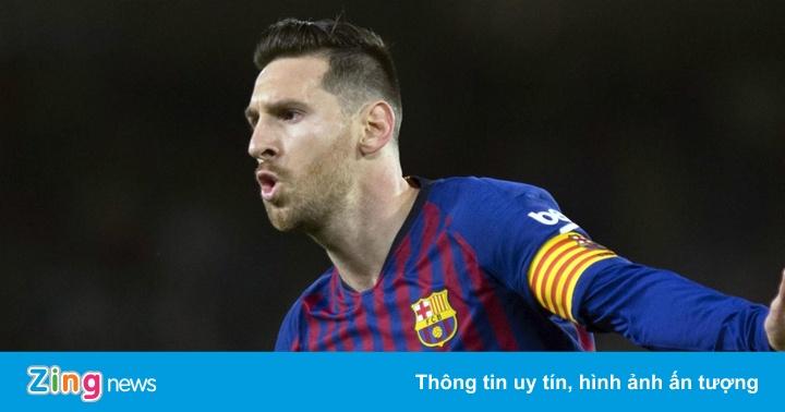 Thống kê kinh ngạc về sự xuất sắc của Lionel Messi