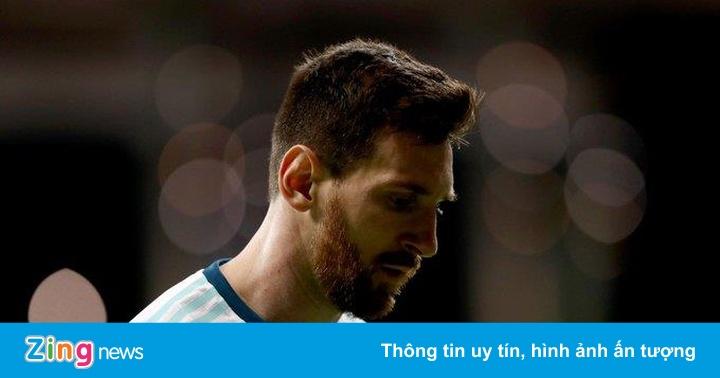 Argentina vs Paraguay: Messi đá chính