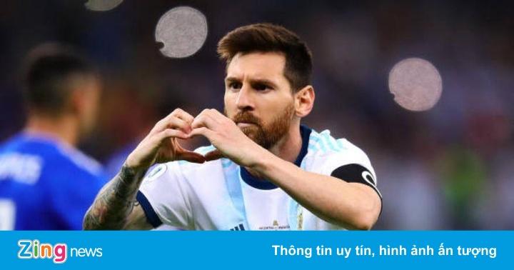 Argentina 1-1 Paraguay: Messi ghi bàn từ chấm phạt đền