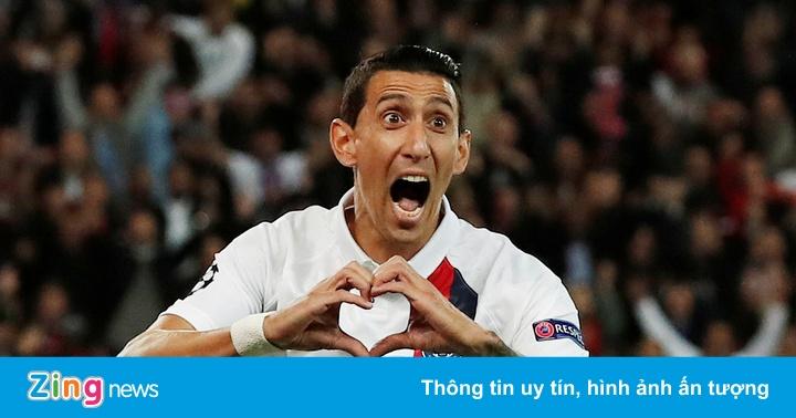Di Maria lập cú đúp, PSG đè bẹp Real Madrid 3-0