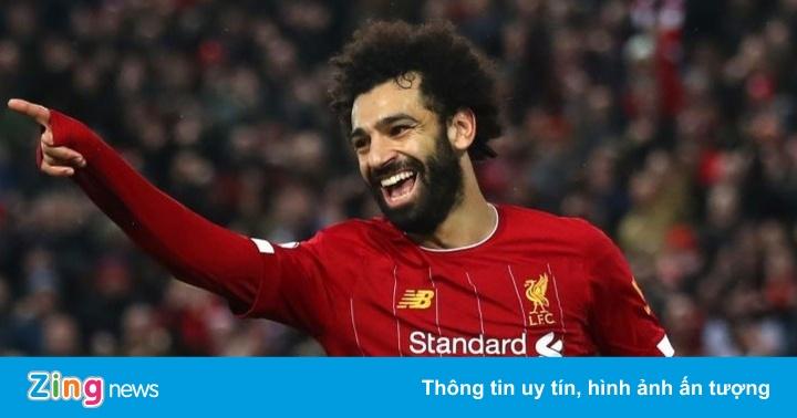 Salah tỏa sáng, Liverpool ngược dòng chấm dứt 3 trận toàn thua