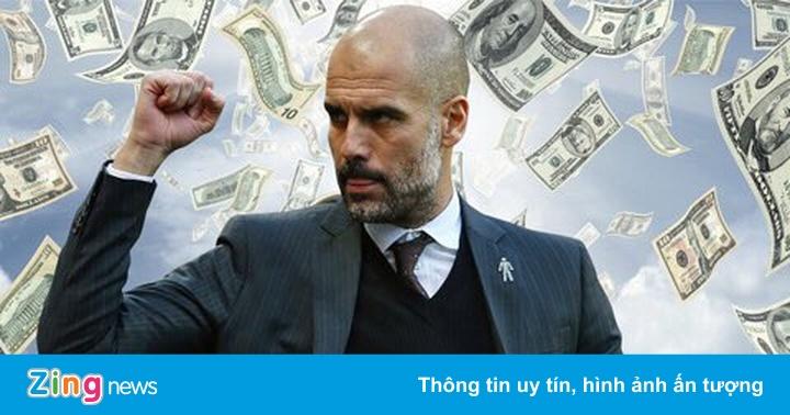 Man City chi hơn nửa tỷ USD để mua hậu vệ dưới thời Pep