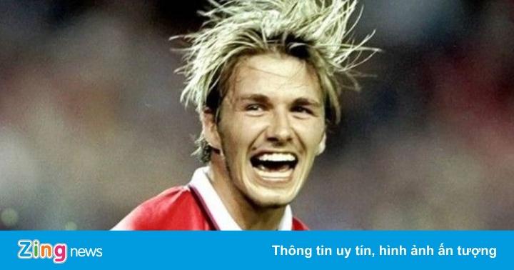 Beckham vào danh sách tiền đạo phải hay nhất mọi thời đại